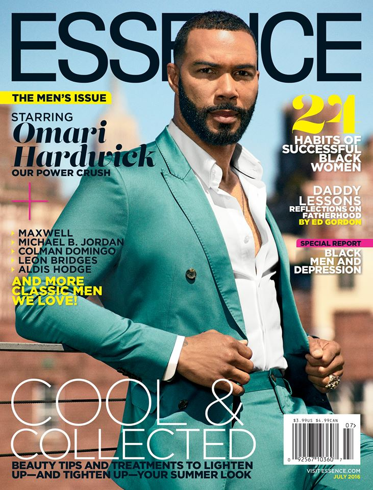 Heart throbs omari hardwick and maxwell cover the men 39 s for Essence magazine recipes