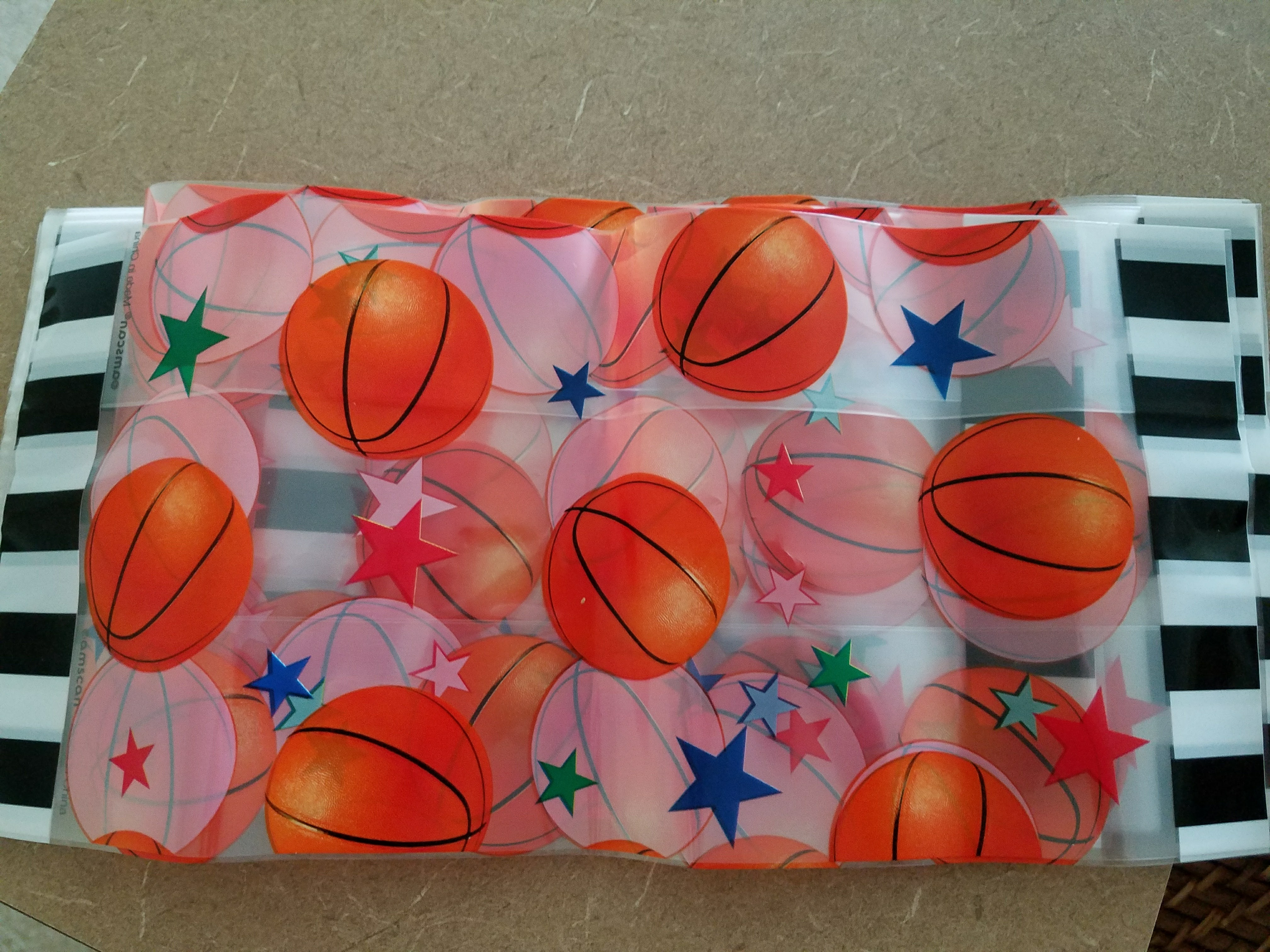 Basketball Party Favor Bags
