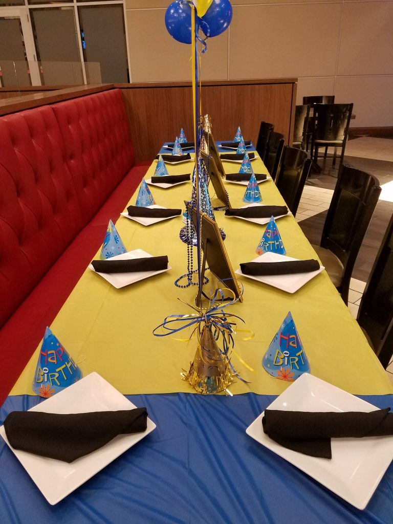 Dave and Busters – Table Setup