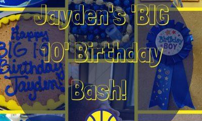 Golden State Warriors Birthday Bash