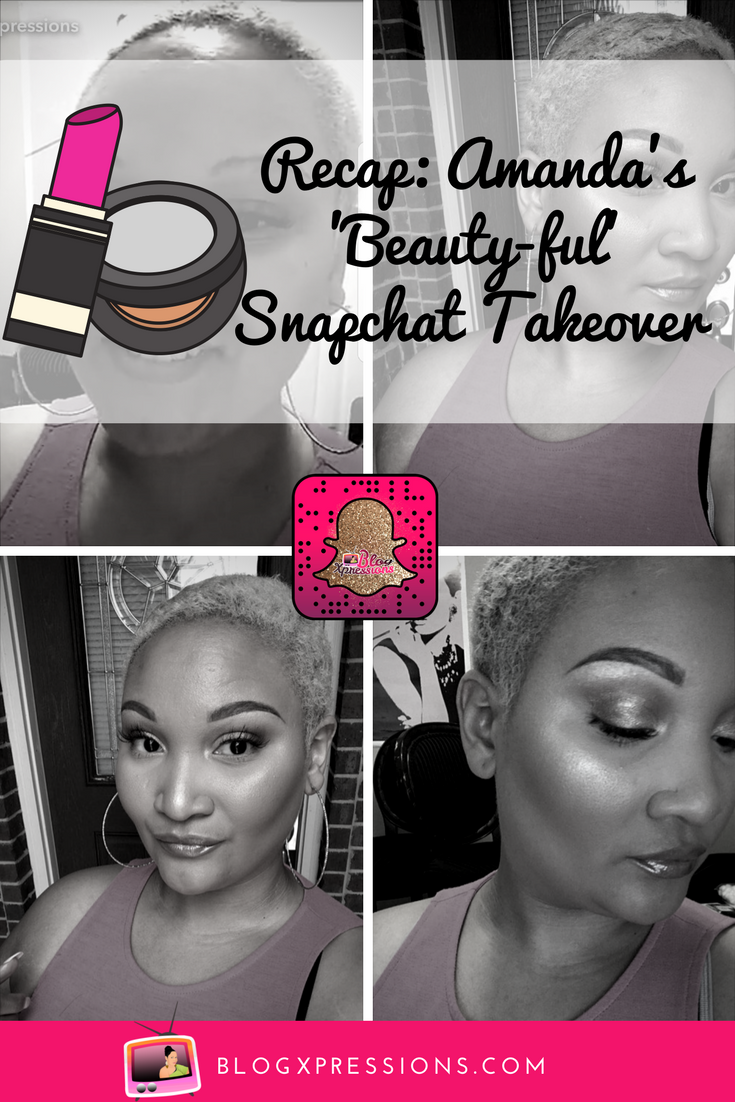 ISSA recap of our first Snapchat takeover and you better believe it was popping. I like to call it the 'Glam University!' Read the recap, plus watch some of the snaps!